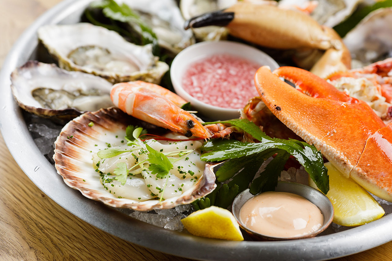 Oyster Box Seafood Platter