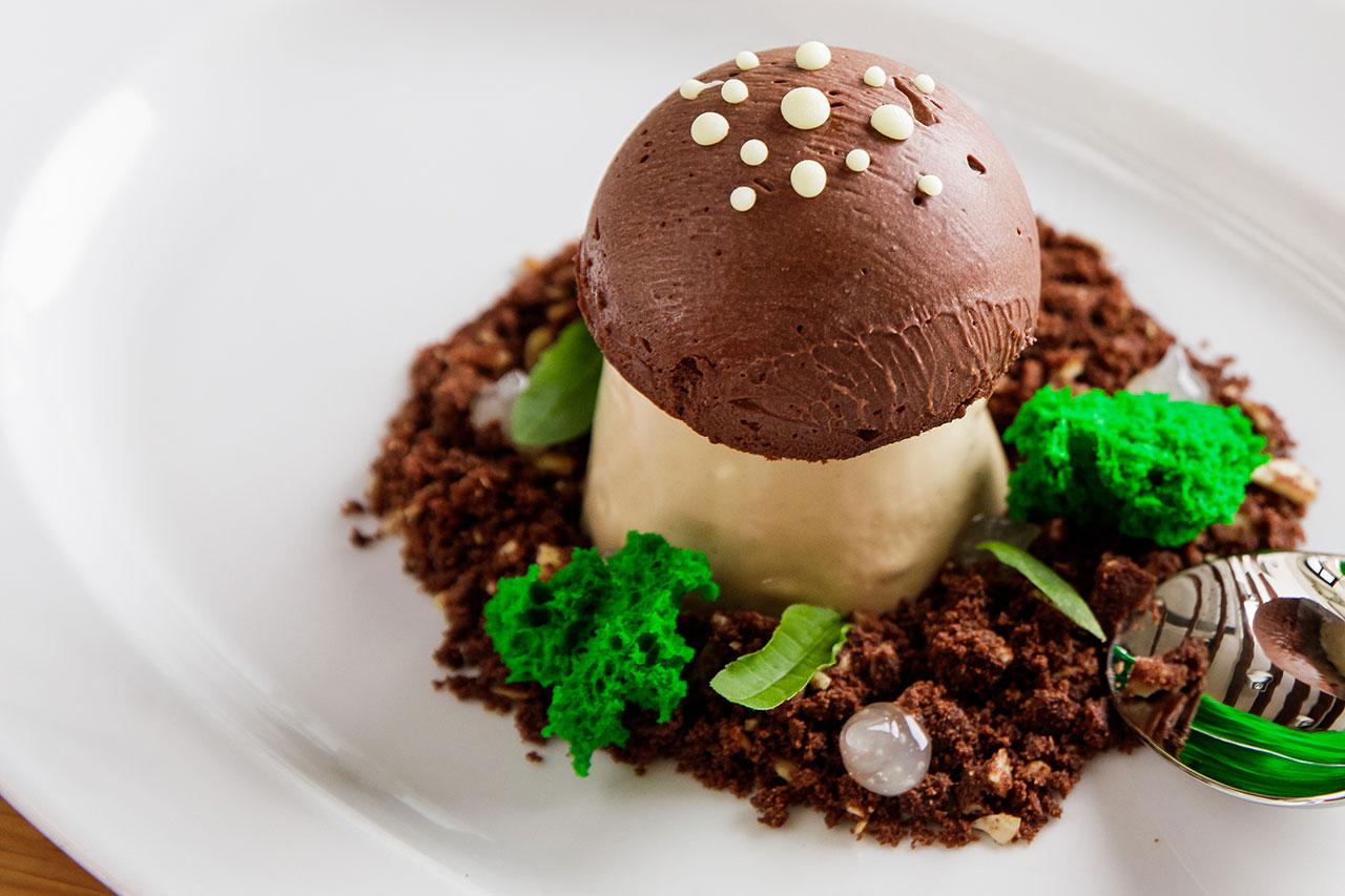 Oyster Box Chocolate Mousse